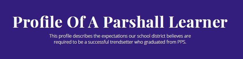 Profile of a Parshall Learner